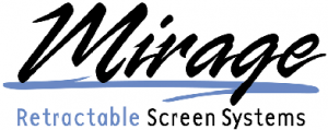 Logo for Mirage Retractable Screen Systems